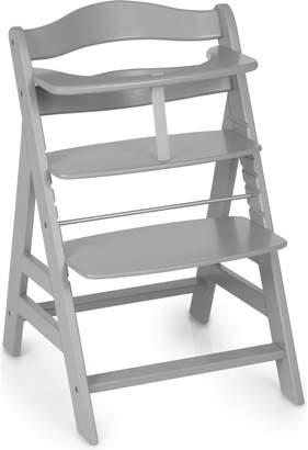 Hauck Alpha+ Wooden Highchair- Grey