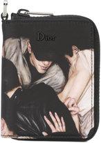 Christian Dior crowd print wallet