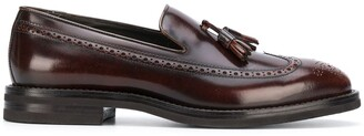 Brunello Cucinelli Tassel Embellished Slip-On Loafers