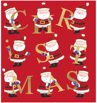 Simson Charity Christmas Cards - Santa