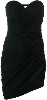 Alexandre Vauthier fitted strapless mini dress