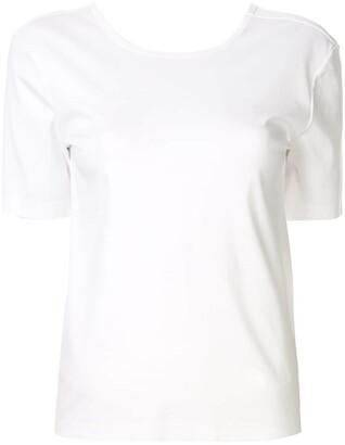 Dion Lee loop knot T-shirt