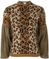 Loewe contrasting print jumper