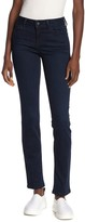 Level 99 Lily Mid Rise Skinny Straight Leg Jeans