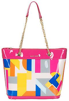Ted Lapidus TROPIQUES women's Shoulder Bag in Multicolour