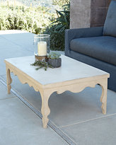 Horchow Silhouette Outdoor Coffee Table