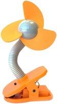 Dream Baby Dreambaby Stroller Fan - Orange/Silver