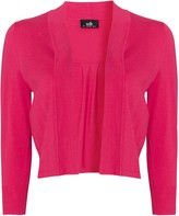 Wallis Pink Crop Shrug Cardigan