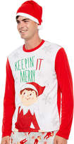 Asstd National Brand Elf on the Shelf Family Pajama Set- Men's