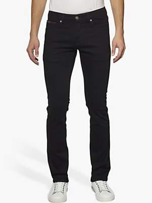 Tommy Hilfiger Tommy Jeans Slim Scanton Jeans, Black Comfort