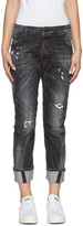 DSQUARED2 Black Workwear Jeans