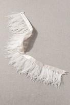 Madeleine Fig Stuyvesant Feather Sash