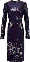 Nina Ricci Sequined crepe midi dress