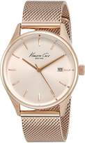 Kenneth Cole New York Women's 10029400 Classic Analog Display Japanese Quartz Rose Watch