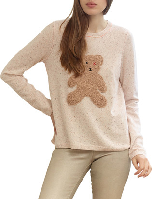 LISA TODD Teddy Bear Cashmere Sweater