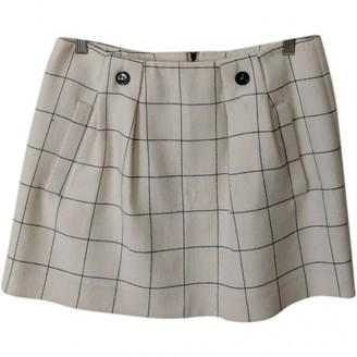 See by Chloe Ecru Wool Skirt for Women
