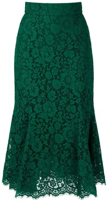 Dolce & Gabbana Lace Mid-Length Skirt