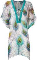 BRIGITTE animal print beach dress
