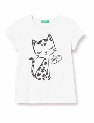 Benetton Girl's T-Shirt Kniited Tank Top