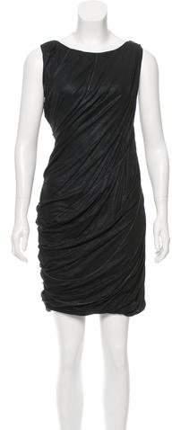 Behnaz Sarafpour Metallic Embellished Dress