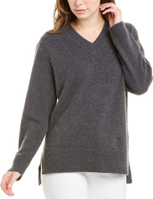 Magaschoni High-Low Cashmere Sweater