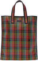 Paul Smith Multicolor Woven Tartan Tote