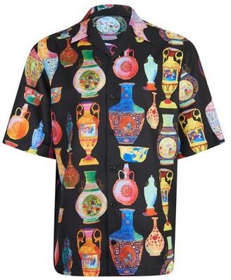 Versace Tessuto short sleeves shirt