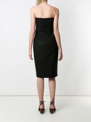 Eva Fitted Strapless Dress