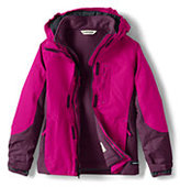 Lands' End Girls Squall 3-in-1 Jacket-Bay Blue