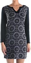 Aryeh Flowers Sweater Dress