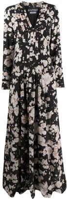 Boutique Moschino Floral Maxi Dress
