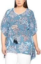 Ulla Popken Women's Tunika Mit Floral Druck Blouse,UK 32
