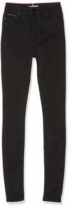 Tommy Hilfiger Women's Harlem Ultra Skinny Hw Efo Straight Jeans