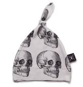 Nununu Infant MD Skull Hat - White