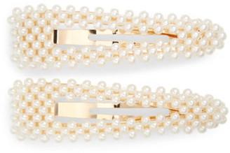 Tasha 2-Pack Imitation Pearl Hair Clips