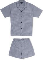 Contare Gingham Check Short Pajama Set