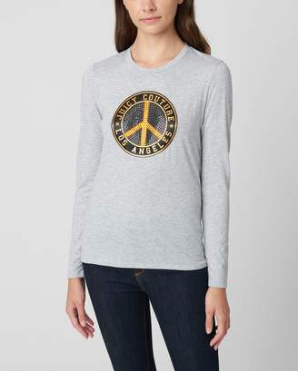 Juicy Couture TRADITIONAL LOGO TRK CLASSIC LS TEE
