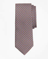 Brooks Brothers Flower and Diamond Print Tie