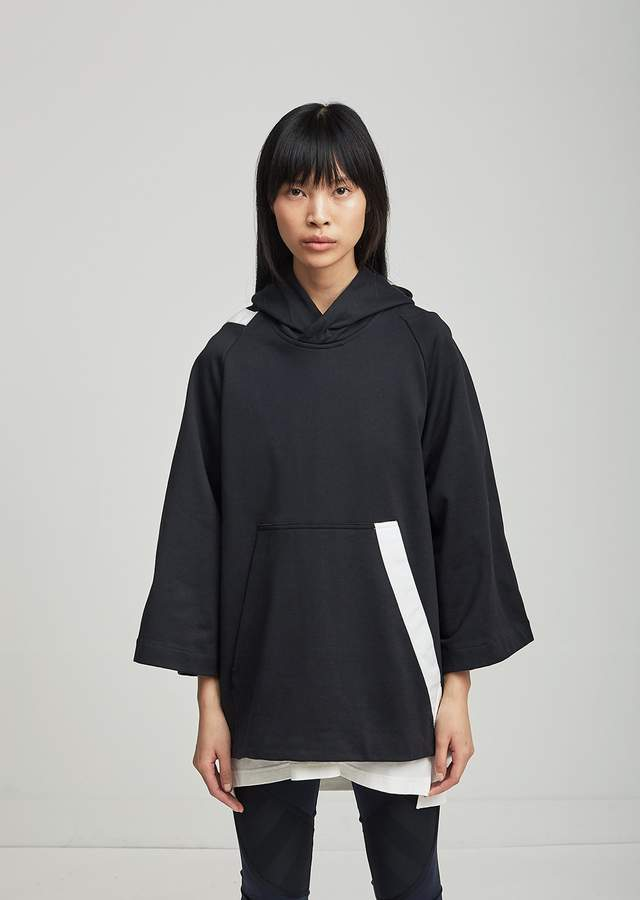 Y-3 Bold Stripe Hoodie Black / Core White
