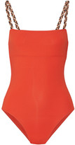 Eres Véronique Leroy Sol Swimsuit - Tomato red
