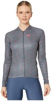 Pearl Izumi Attack Long Sleeve Jersey (Turbulence/Atomic Red Origami) Women's Clothing