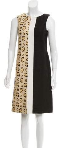 Giambattista Valli Printed Knee-Length Dress w/ Tags