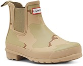 Hunter Chelsea Desert Camo Rain Booties