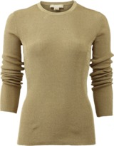 Michael Kors Metallic Ribbed Pull Over