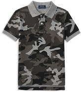 Ralph Lauren Boys' Mesh Camo Polo Shirt - Sizes 2-7