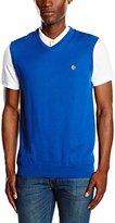 Lyle & Scott Men's Logo Sleeveless V-Neck Vest