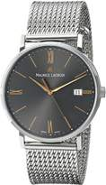 Maurice Lacroix Men's EL1087-SS002-811 Eliros Analog Display Analog Quartz Silver Watch