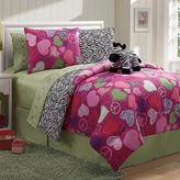 Victoria Classics zebra reversible comforter set
