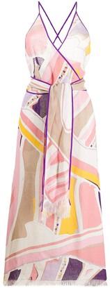 Emilio Pucci Ciwara print maxi dress