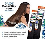 """Nude MALAYSIAN REMY YAKY (10S"""", F4/30)- Model Model 100% Human Hair Weave"""